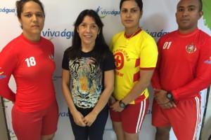Williana Mochel, Denise Araújo, Major Priscila Chahini e capitão Fabiano Almeida
